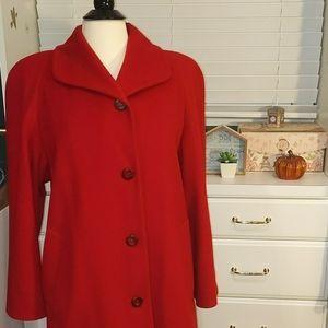 Vintage Burberry Wool Coat